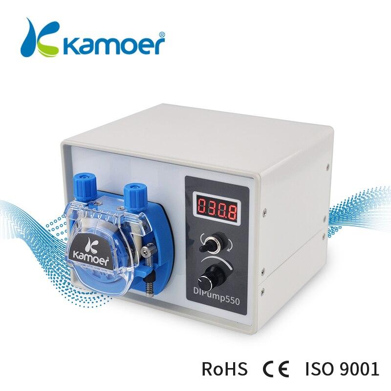 Kamoer High Flow 24V DC DIP Intelligent Power Off Memory Peristaltic Pump For Liquid Dispenser Food Industry kamoer digital peristaltic pump dispenser