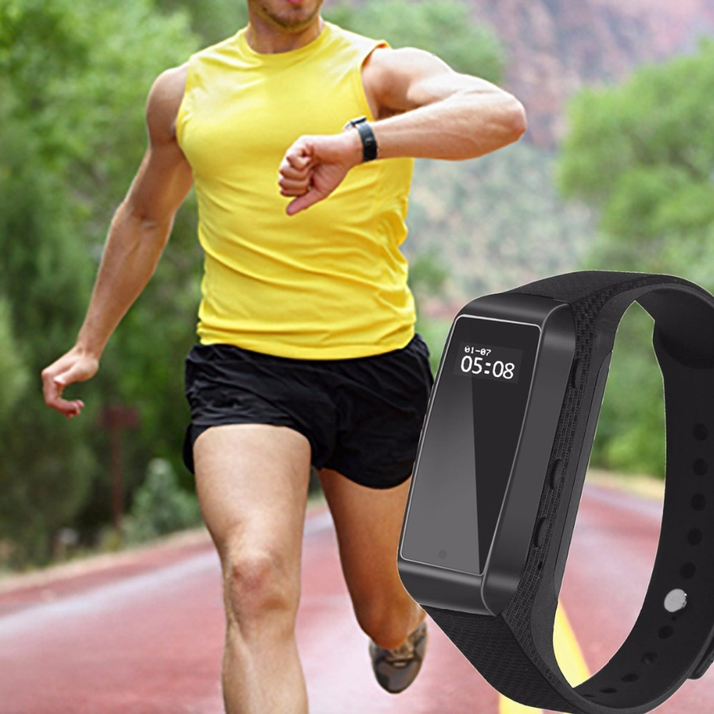 Fitness Track with Camera Bracelet function Outdoor Sport Digital Secret Cam Micro Mini Wearable Smart Watch Voice Sound Record