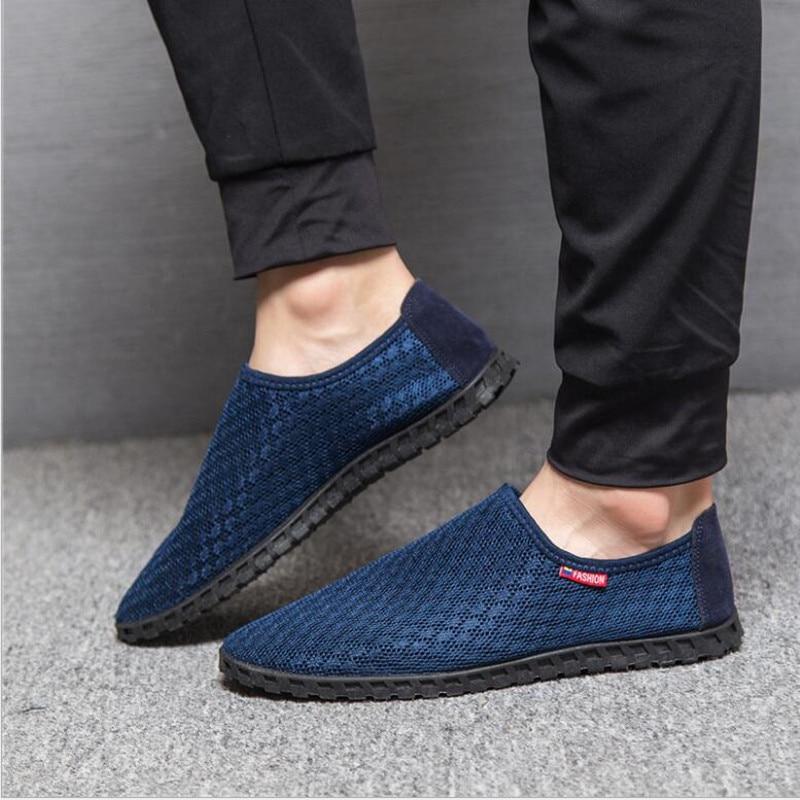 2018 nuevos zapatos de verano respirables de los hombres zapatos - Zapatos de hombre - foto 3
