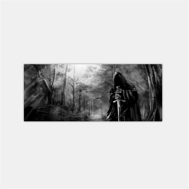 3D Grim Reaper Death Forest Rear Window Graphic Sticker