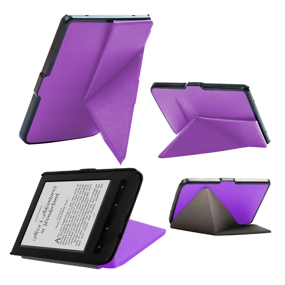 For pocketbook 614/615/624/625/626/626 plus stand cover case + protective film + stylus pen