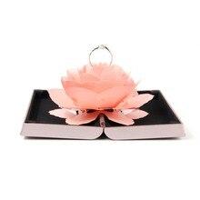 Foldable Rose Ring Box