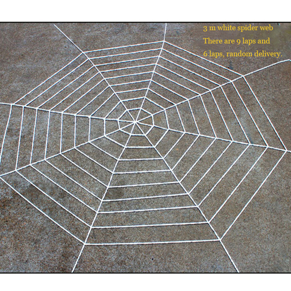 3m gothic spooky spider web net halloween haunted house bar decoration party supplies in party diy decorations from home garden on aliexpresscom - Spider Web Decoration
