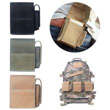 Custodia militare Molle tasca tattica per pistola singola tasca in Nylon 1000D guaina Airsoft caccia munizioni borse mimetiche