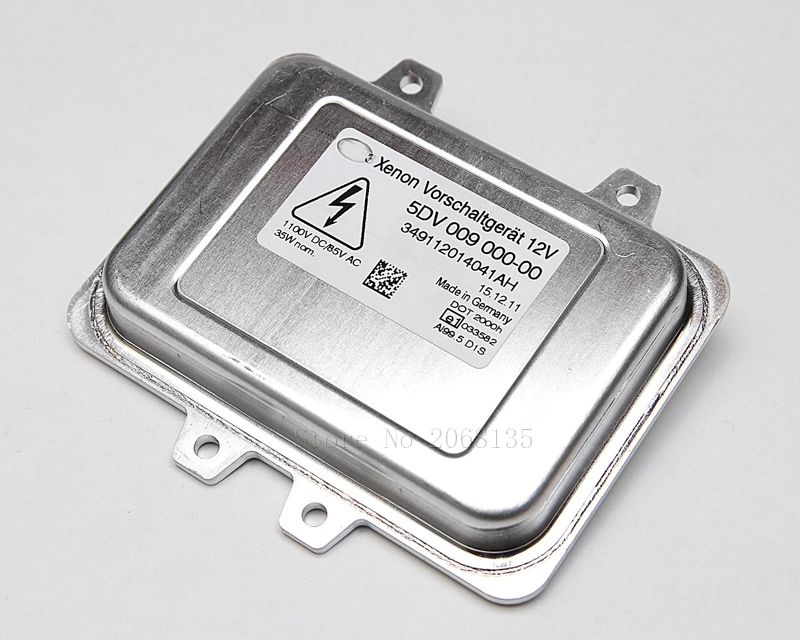 Original Genuine OEM:5DV 009 000-00 5DV00900000 63 12 6 937 223 / 63126937223  D1S Xenon HID Headlight Ballast Unit Module