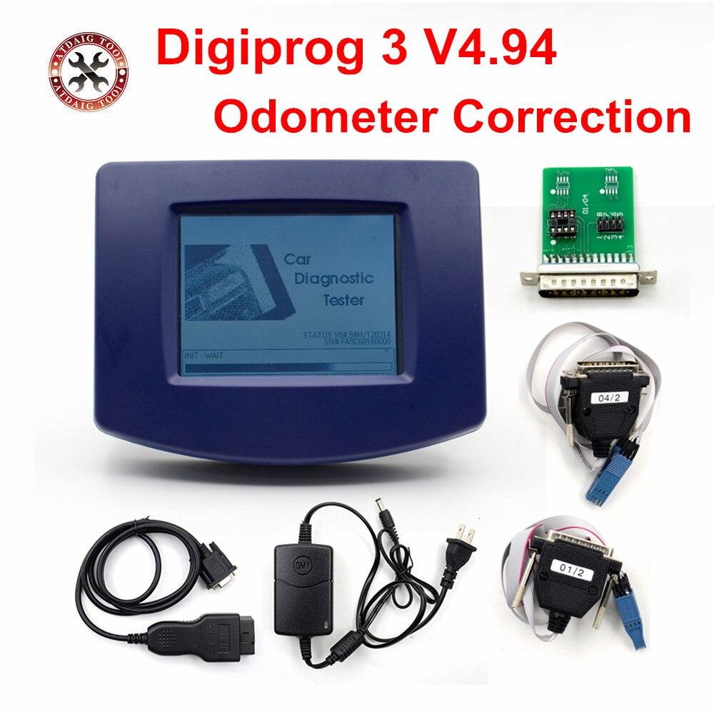 Оригинальный VSTM Digiprog III V4.94 Digiprog 3 с кабелем OBD2 ST01 ST04 инструмент для коррекции одометра Digiprog3 в наличии БЕСПЛАТНАЯ ДОСТАВКА