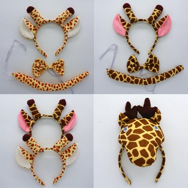 Los niños adultos jirafa orejas Zoo Animal de la banda para el ...