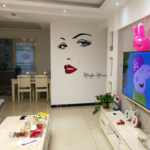 Marilyn Monroe 3D Acrylic Wall Stickers