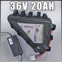 36v 20ah triangle electric bike battery Bafang triangle battery Samsung 36v e bike battery Free EU US customs taxes