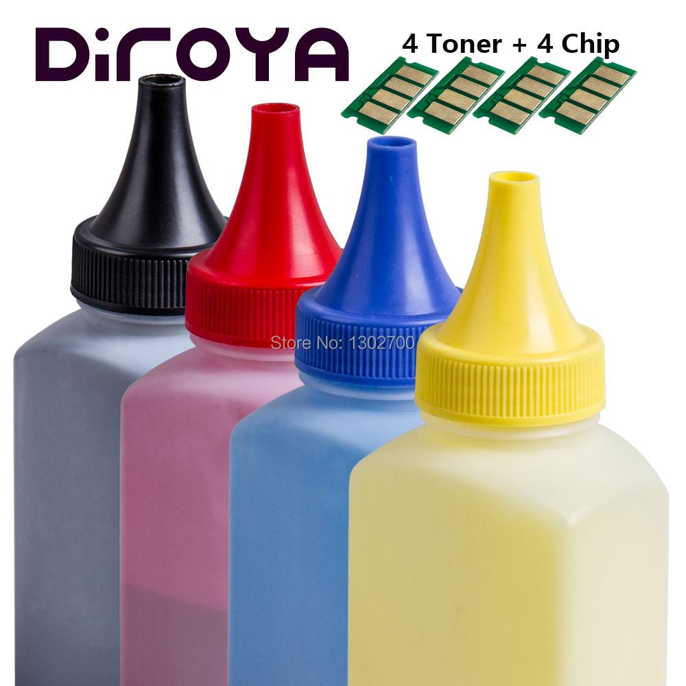 1SET SPC250 C250 KCMY Toner Cartridge chip Powder Refill KIT For Ricoh SP C250e C250dn C250sf C250dw SPC250e SPC250dn SPC250sf