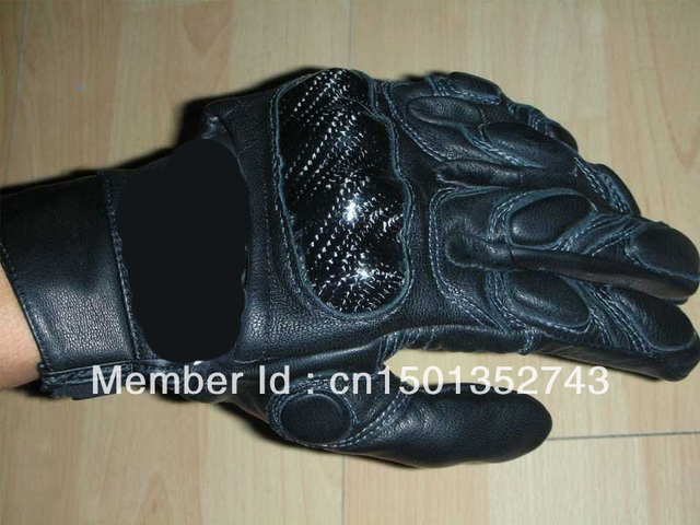 2013 New Motorcycle Gloves/Motorcycle Accessories/leather Gloves/motorbike glov/BLACK