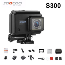 SOOCOO S300 Action Camera 2.35″ touch lcd Wifi 12MP CMOS Hi3559V100 + IMX377 4K 30fps EIS remote external mic sport version cam