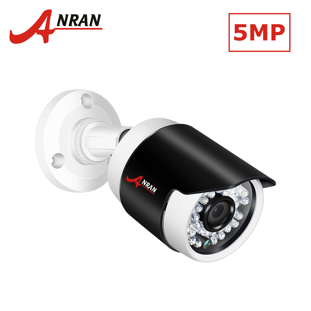 ANRAN ONVIF 5.0MP POE IP Camera 1944P Security Camera H.265 IR Cut Night Vision Video Su ...
