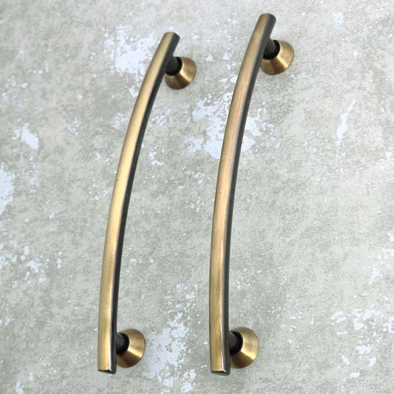5 brushed antique brass wardrobe dresser door handles 128mm bronze kitchen cabinet drawer pulls knobs rural furniture handles