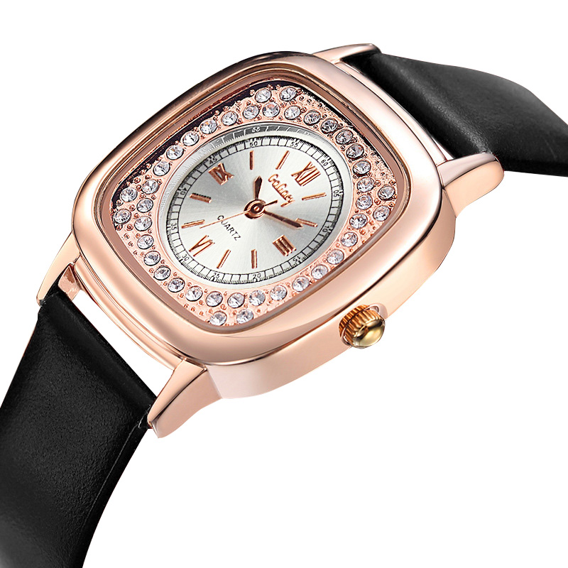 Gogoey Top Brand Rose Gold Watch Women Watches Luxury Diamond Women's Watches Fashion Ladies Watch Clock kol saati reloj mujer guou luxury rose gold watch women watches fashion women s watches top brand ladies watch clock saat reloj mujer relogio feminino