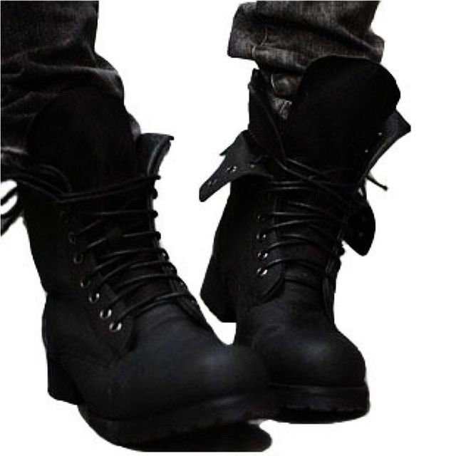 Free shipping! 핫 Retro 전투 boots 겨울 England-style 멋을 낼 Men's short Black shoes 군 boots