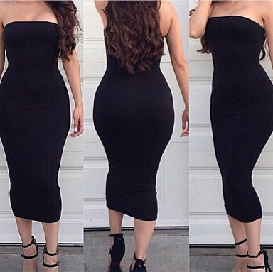 Plus Size Tube Top Dresses – Fashion dresses