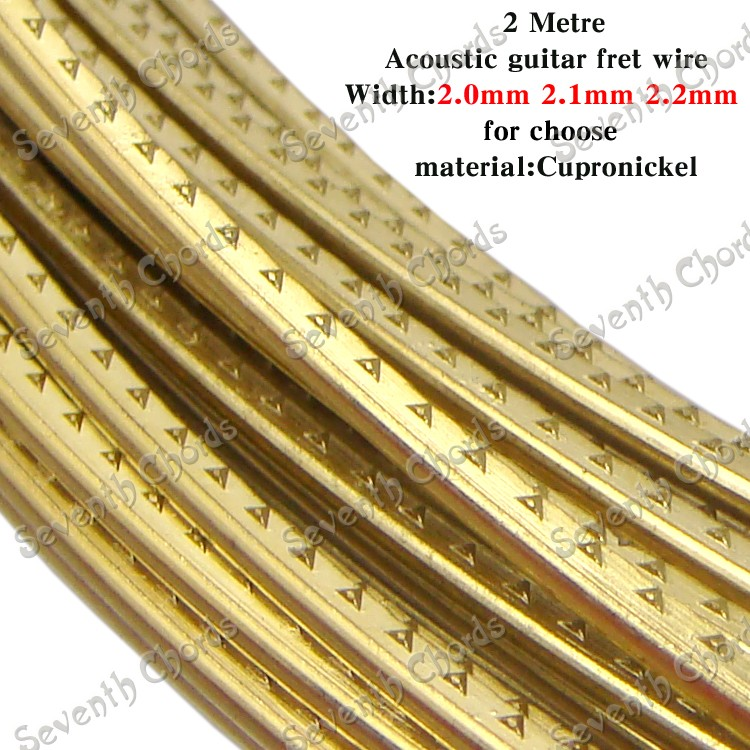 2 meters high quality brass acoustic guitar fret wire fingerboard fret wire width 2. Black Bedroom Furniture Sets. Home Design Ideas
