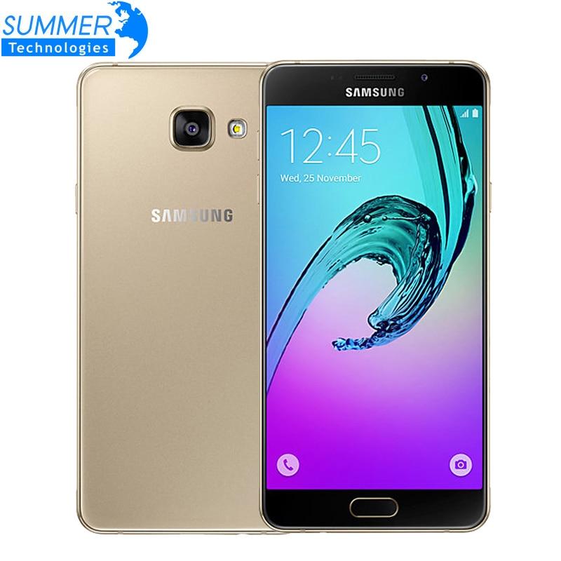 Original Samsung Galaxy A7 A7100 4G LTE Mobile Phone Dual Sim 5.5 3GB RAM 13.0MP Octa-core Fingerprint Smartphone