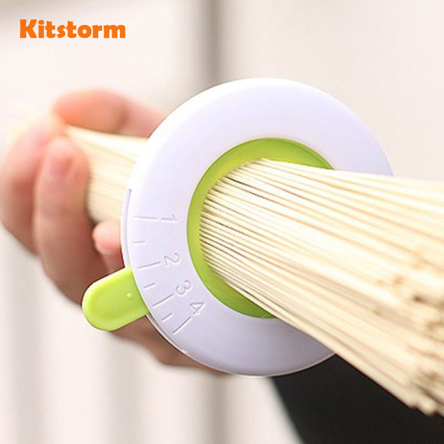 Innovative Compact Spaghetti Measures Kitchen Gadgets Noodle Measuring Tools  / Adjustable Portion Guide For One To
