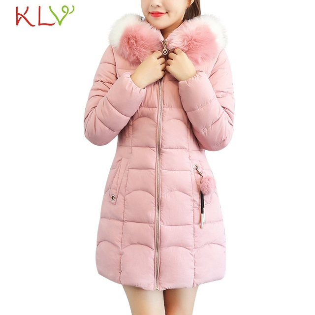 Women Jacket Winter Hooded Thick Fur Cotton Parka Long 2018 Plus Size Ladies Chamarra Cazadora Mujer Coat For Girls 18Oct24 2