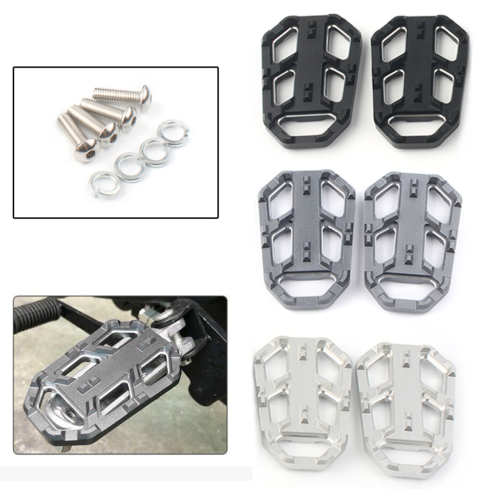 Front Footpegs Foot Pegs CB500X Cb500 X CB500-X 2015 2016 For HONDA Motorcycle Extension Pad Accessories CNC Aluminum 2pcs/set