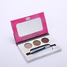 3 Colors Waterproof Eyebrow Shadow Palette