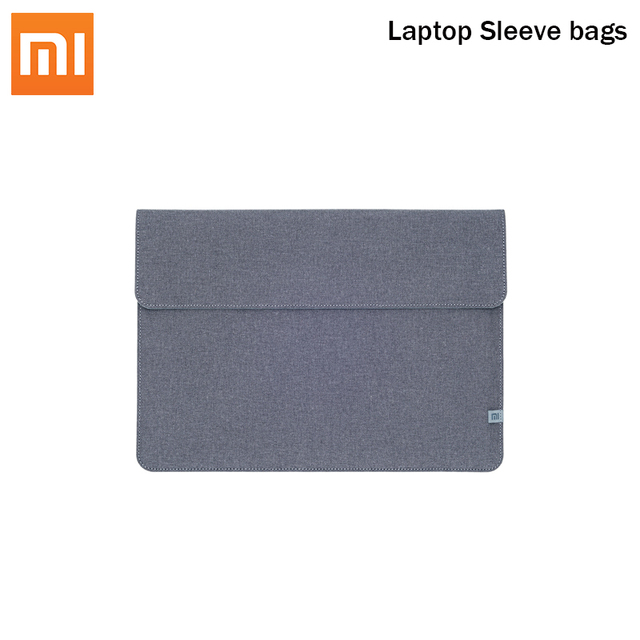 new style aa0f4 7767e US $14.79 23% OFF|Xiaomi OriginalAir 13 Laptop Sleeve bags case 13.3 inch  notebook for Macbook Air 12 11 inch Xiaomi Mi Notebook Air 13.3 12.5 -in ...