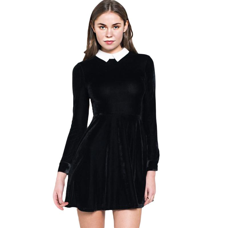 Online Get Cheap Keyhole Long Sleeve Dress Plus Size Aliexpress