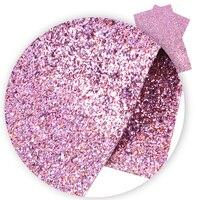 David aksesuarları 30*140cm düz renk Glitter sahte sentetik deri saç yay için yay-düğüm çanta DIY aksesuarları  1Yc4324