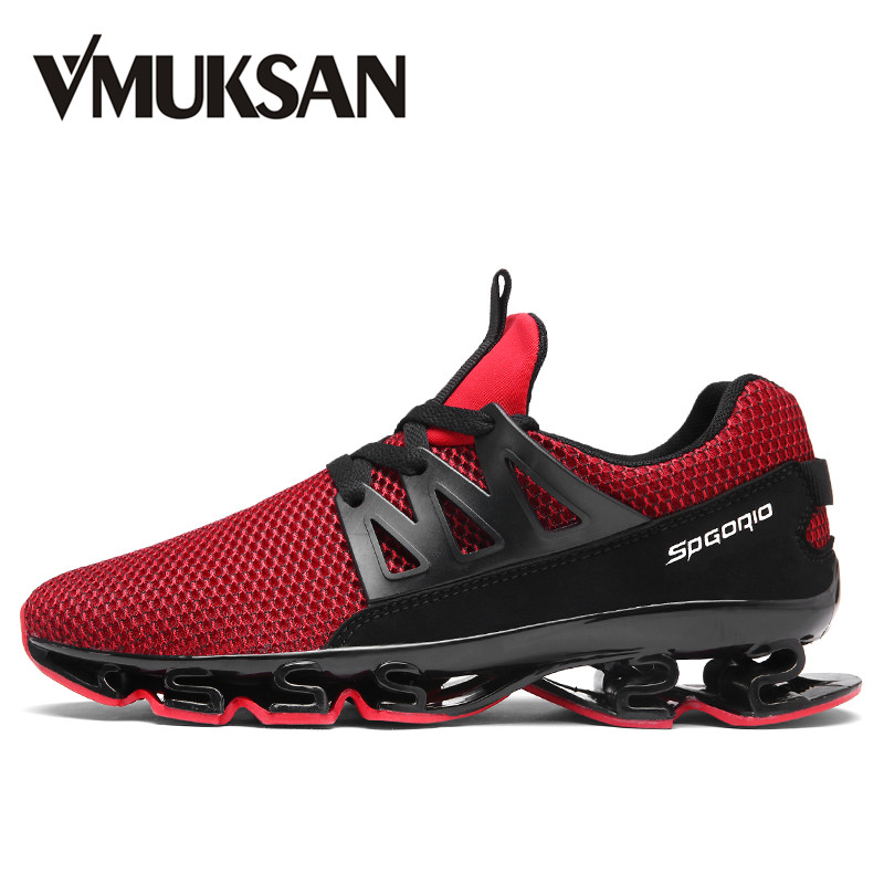 VMUKSAN Spring Comfortable Men's Vulcanize Shoes Big Size Fashion Slip On Sneakers Men Designer Breathable Mesh Male Loafers