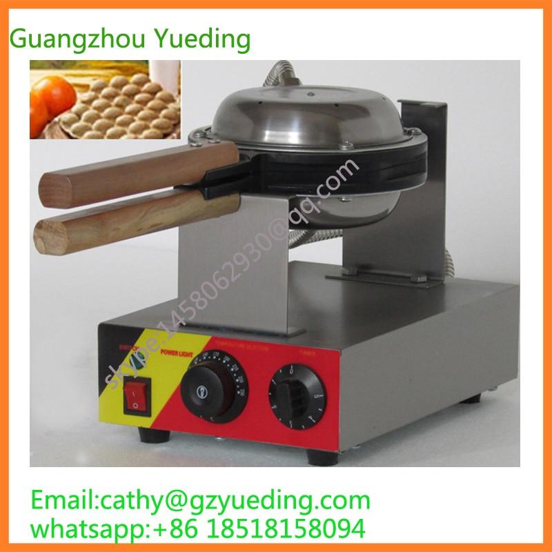 Poffestional HongKong egg waffle maker/ puff waffle machine/commercial ice cream puff waffle cup machine цена 2017