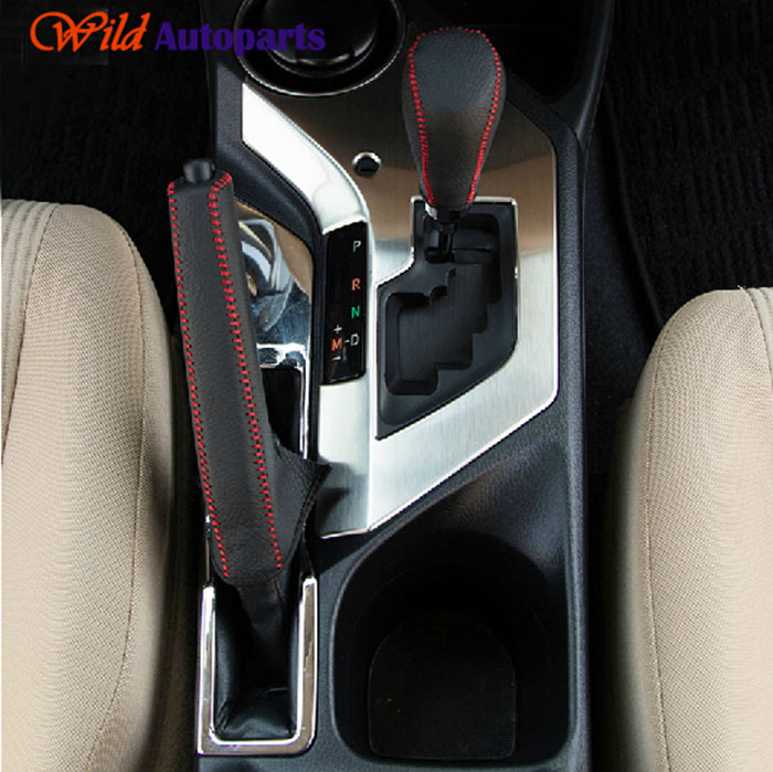 Polished stainless steel interior shift gear box panel - 2013 toyota camry interior parts ...