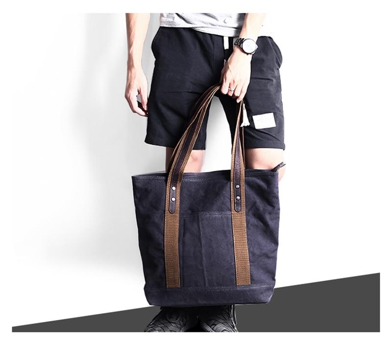Tidog Korea mens bags briefcases hand the bill of lading shoulder bag