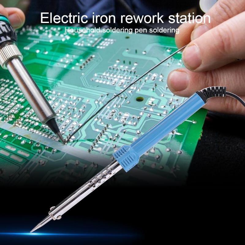 Adjustable Temperature Electric Soldering Iron ABS ALLOY 110V/220V Electronic Electrical Welding Solder Heat Pencil