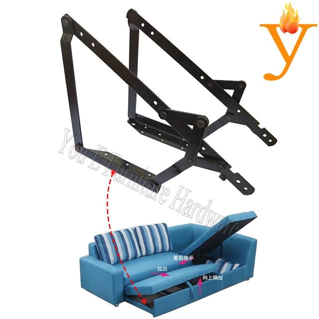 Metal Furniture Frame Hinge For Folding Sofa Bed Mechanism D11 In