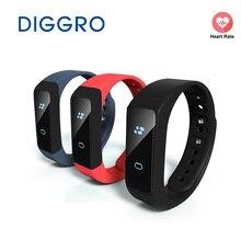 Diggro OLED умный Браслет Bluetooth 4.0 Шагомер фитнес traker часы калорий здоровья Браслет сна монитор для iOS и Android