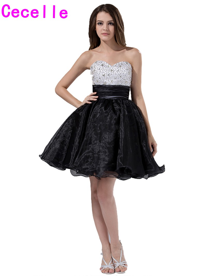 Black and White Dresses for Juniors Party Promotion-Shop for ...