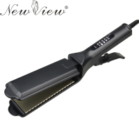 Titanium Ceramic Hair Straightening Flat Iron Thermostat Hair Curler Styling Tools For Hairdressing