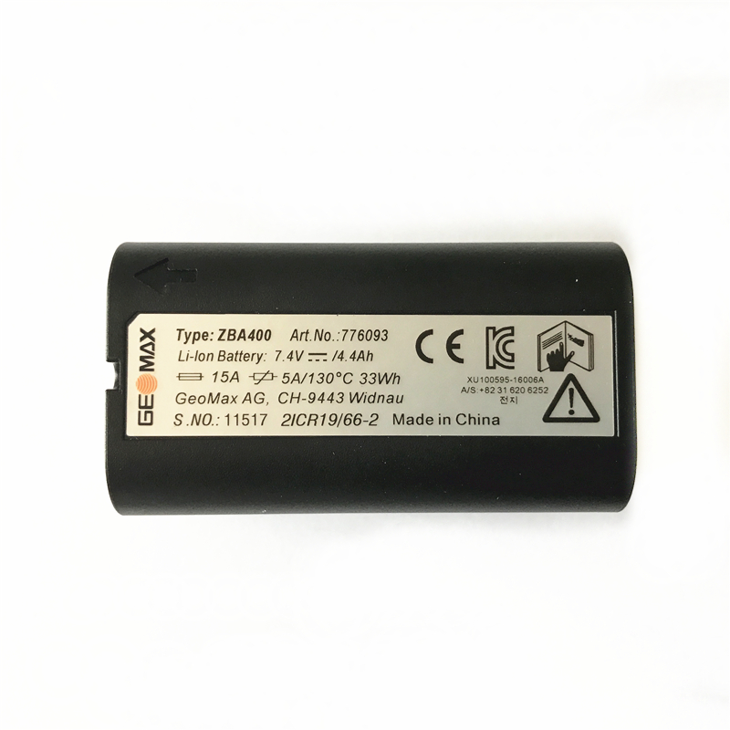 High quality brand New GEOMAX ZBA400 <font><b>Battery</b></font> for GEOMAX ZT20 ZT80 Series Total Station GEOMAX power <font><b>battery</b></font> <font><b>4400mAh</b></font> <font><b>7.4V</b></font> image