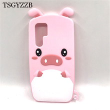 For Huawei P30 Pro Case P30Lite Cover Silicone Cute Cartoon Piglet Phone Cases On Lite P 30