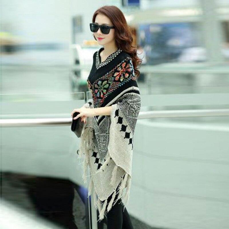 Весной и осенью мода Pull пуловер - Женская одежда - Фотография 4