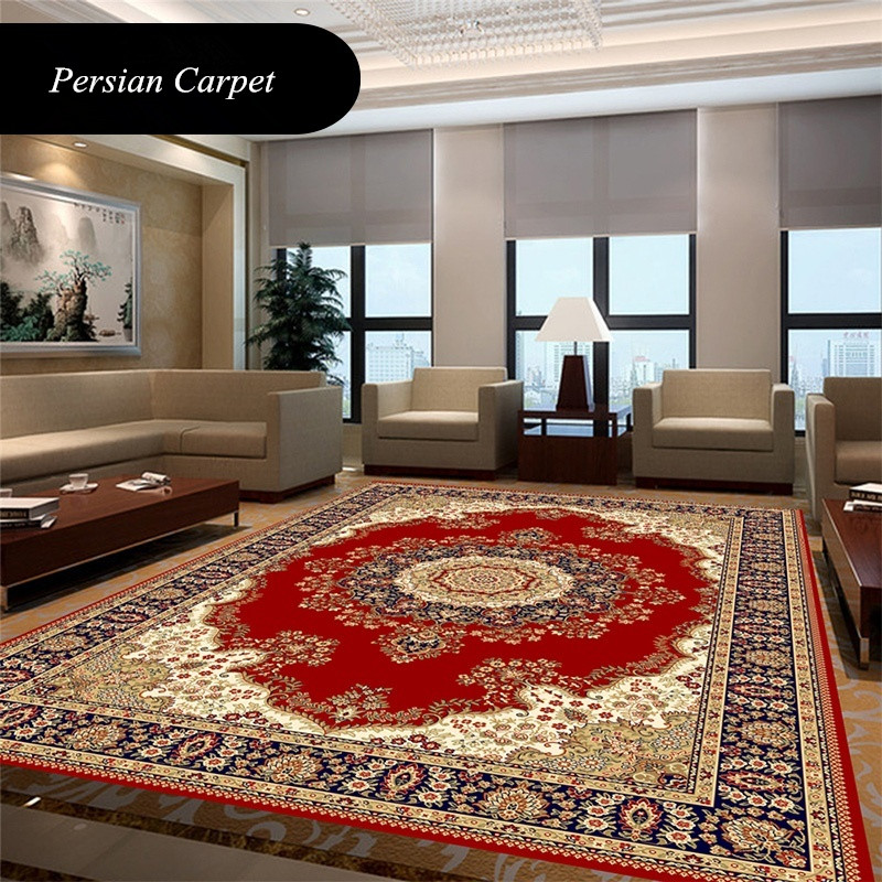 Persian Carpet Livingroom Classic Bedroom Rug Home Decor Sofa Coffee Table Floor Mat Study Room Carpets Soft Area Rugs