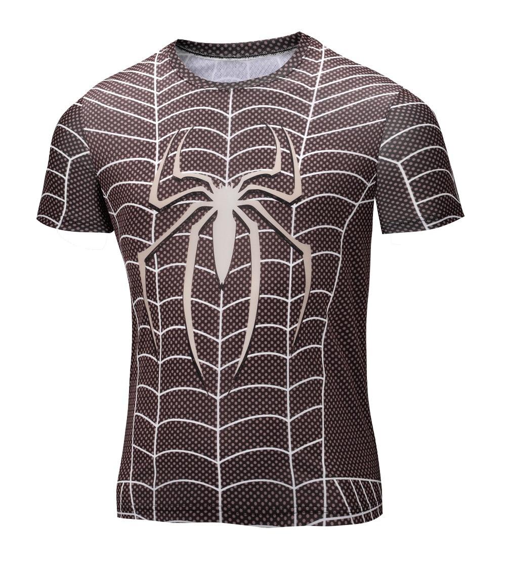 Shirt design for man 2016 - New 2016 Batman Spiderman Men Superman Captain America Soldier T Shirt Printing T Shirt Avengers