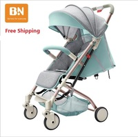 Free shipping New Design New Color Light Baby Stroller Portable Fashionable Pram on 2017 to 201
