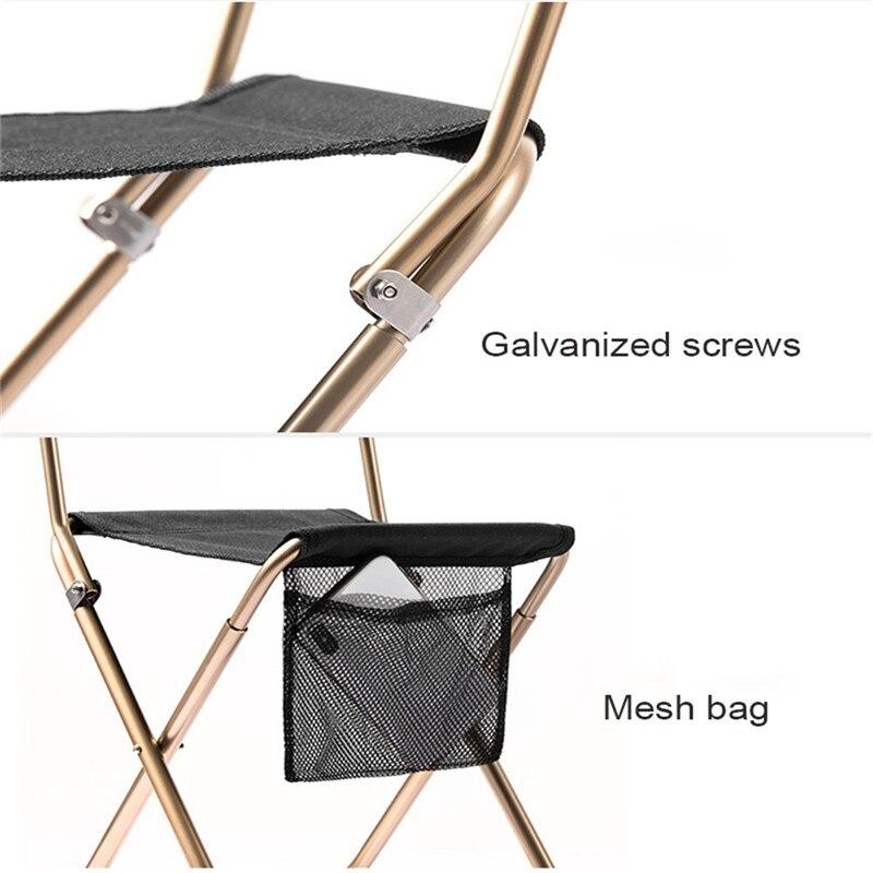 Image 3 - Naturehike переносной раскладной стул открытый пляж Кемпинг Пикник износостойкий алюминиевый стул для отдыха спинку стулья для рыбалки табуреты-in Кемпинг стул from Спорт и развлечения