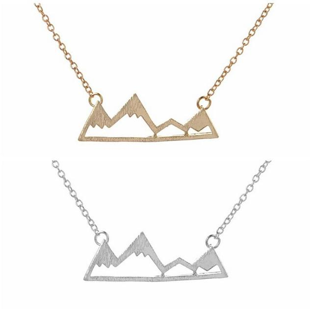 Jeffreeing Star Gold Hexagon Necklace Delicate gold necklace