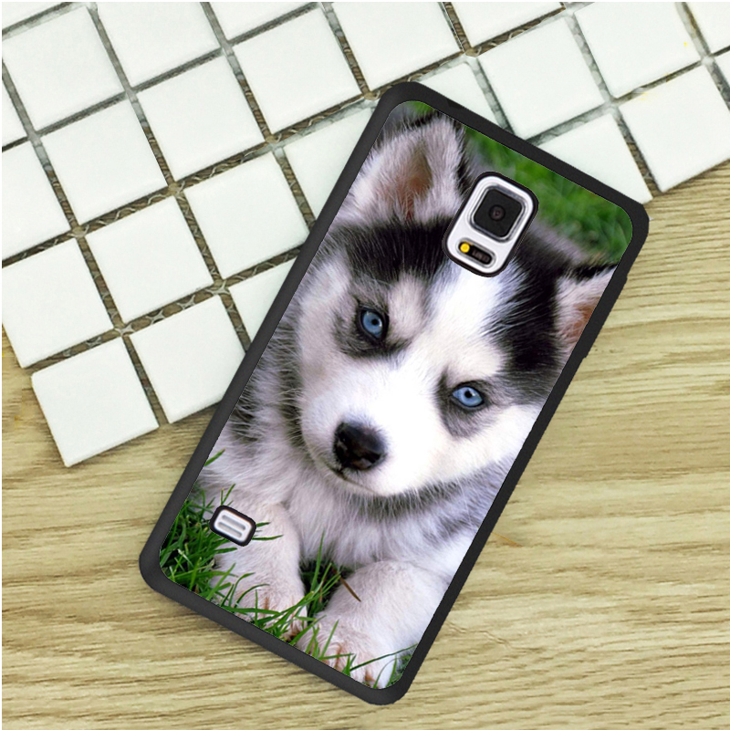 Phone Pouch Cool Animal Panda Husky Puppy Cover For Samsung Galaxy S4 S5 Mini S6 S7 Edge S8 S9 Plus Grand Prime Note 4 5 8 Silicone Case