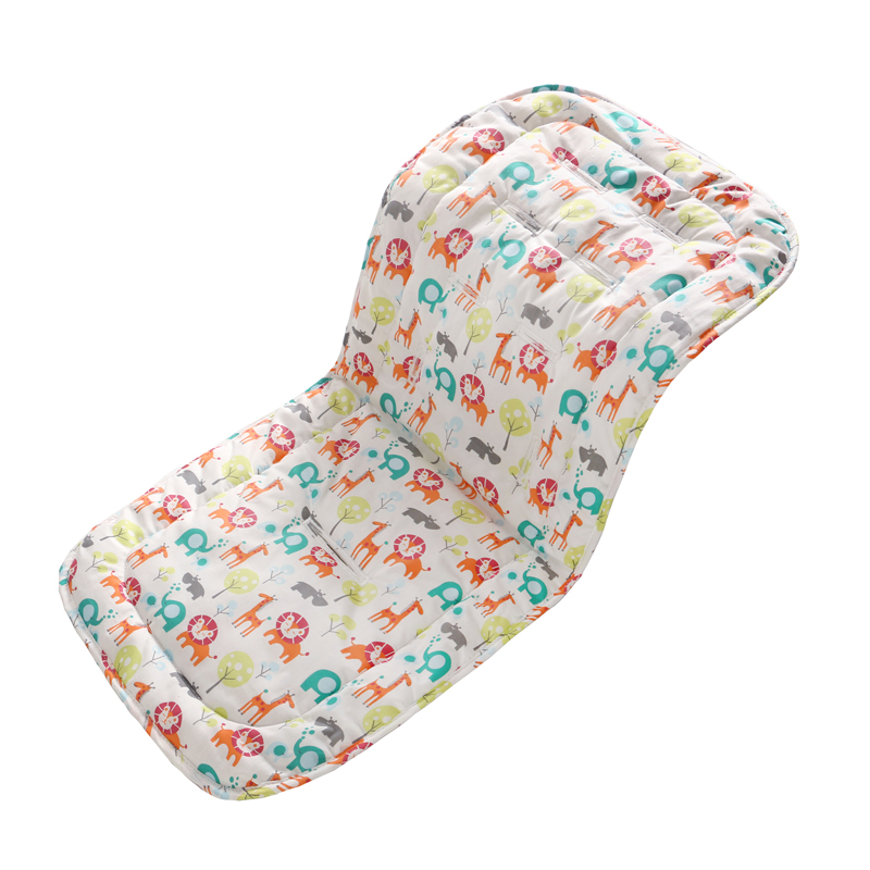 Miracle Baby Soft Stroller Diaper Pad Cotton Stroller Pad Seat changing Pad Prams Buggy Car Carriers Accessories Kids Thick Mat