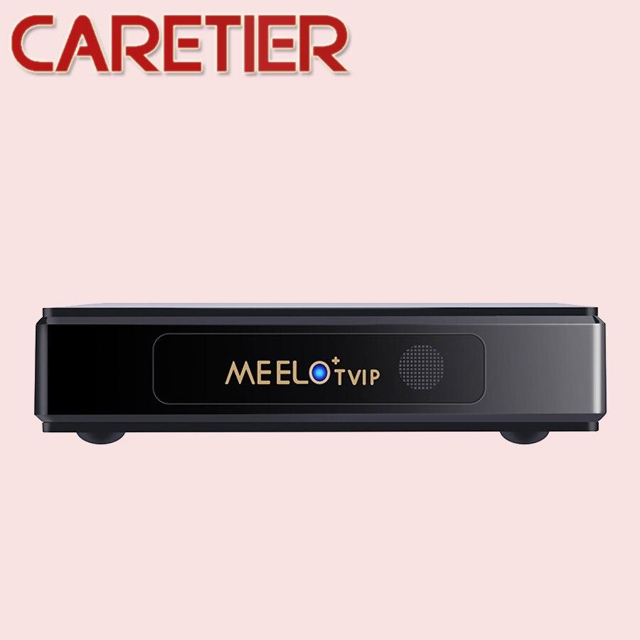 MEELOPLUS 2018 MEELO TVIP S805 Quad Core Linux IPTV M3U Smart TV Box Support WEB TV